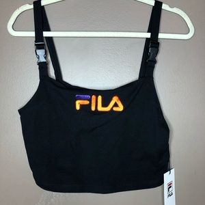 FILA for urban outfitters crop top